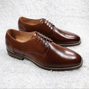 Joseph Abboud Brown Leather Dress Shoes